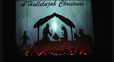 Hallelujah Christmas.Crossett First Church Of God Youth Shadow Dramas