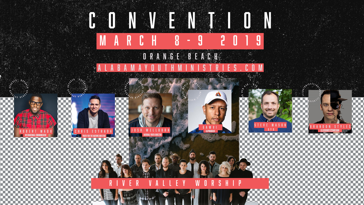 Alabama Youth Ministries | Youth Convention